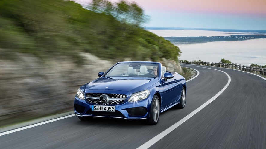 Mercedes C Class Cabriolet unveiled, goes on sale this summer