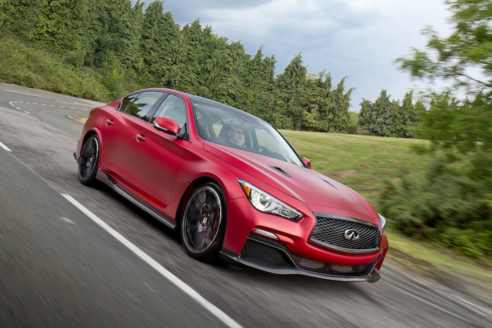 Infiniti Q50 Eau Rouge Unleashes its Inner Beast [Video]