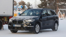 Stretched BMW X1 spy photo