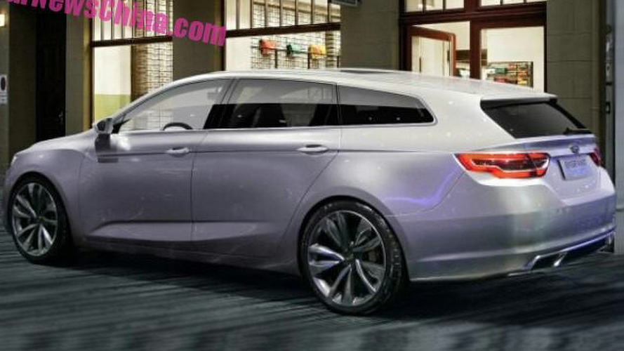 New Geely station wagon concept spotted ahead of official debut