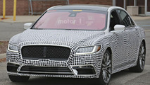 2017 Lincoln Continental spy photo