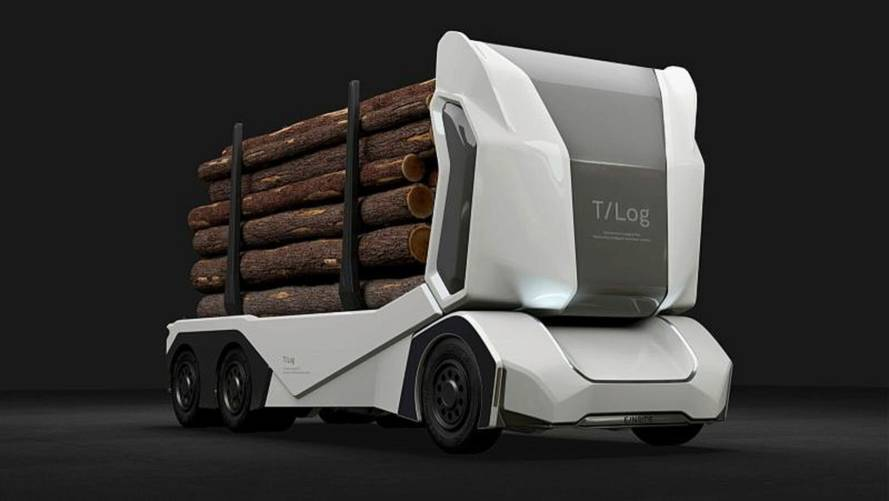 E/NRIDE Unveils T-Log, World's First Electric Logging Truck