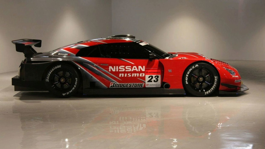 Nissan GT-R GT500 Unveiled at Tokyo Auto Salon
