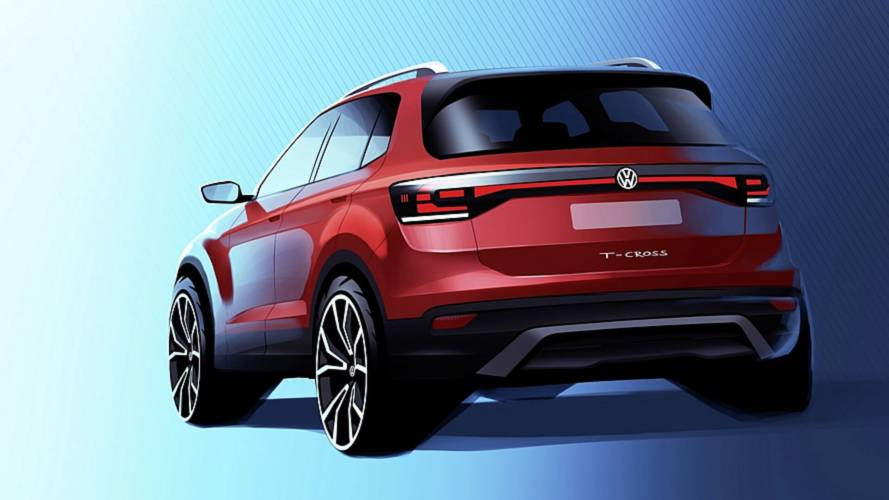 2019 VW T-Cross teasers