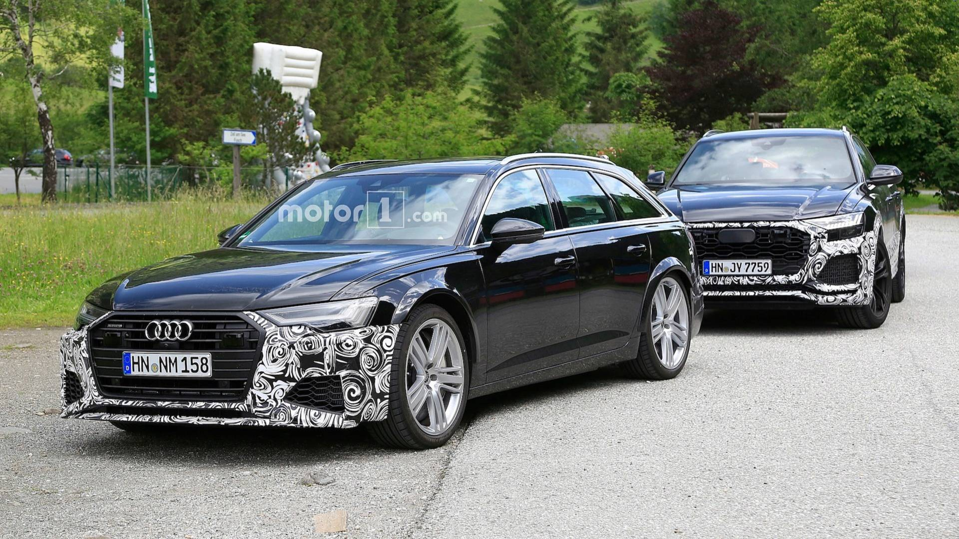 new-audi-r​s6-avant-s​py-photos