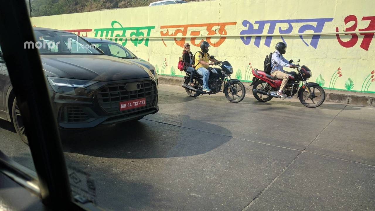 2019 Audi Q8 spied in India