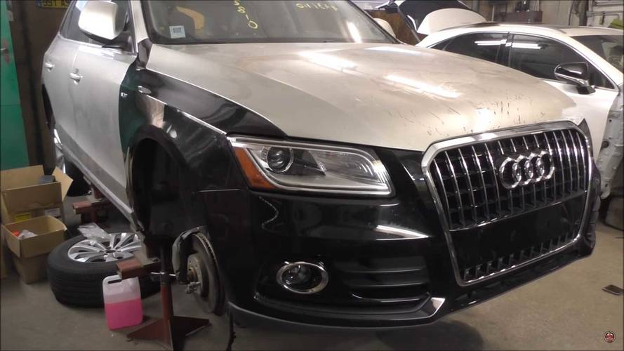 Wrecked Audi Q5 Looks Good As New; Might Give You Trust Issues