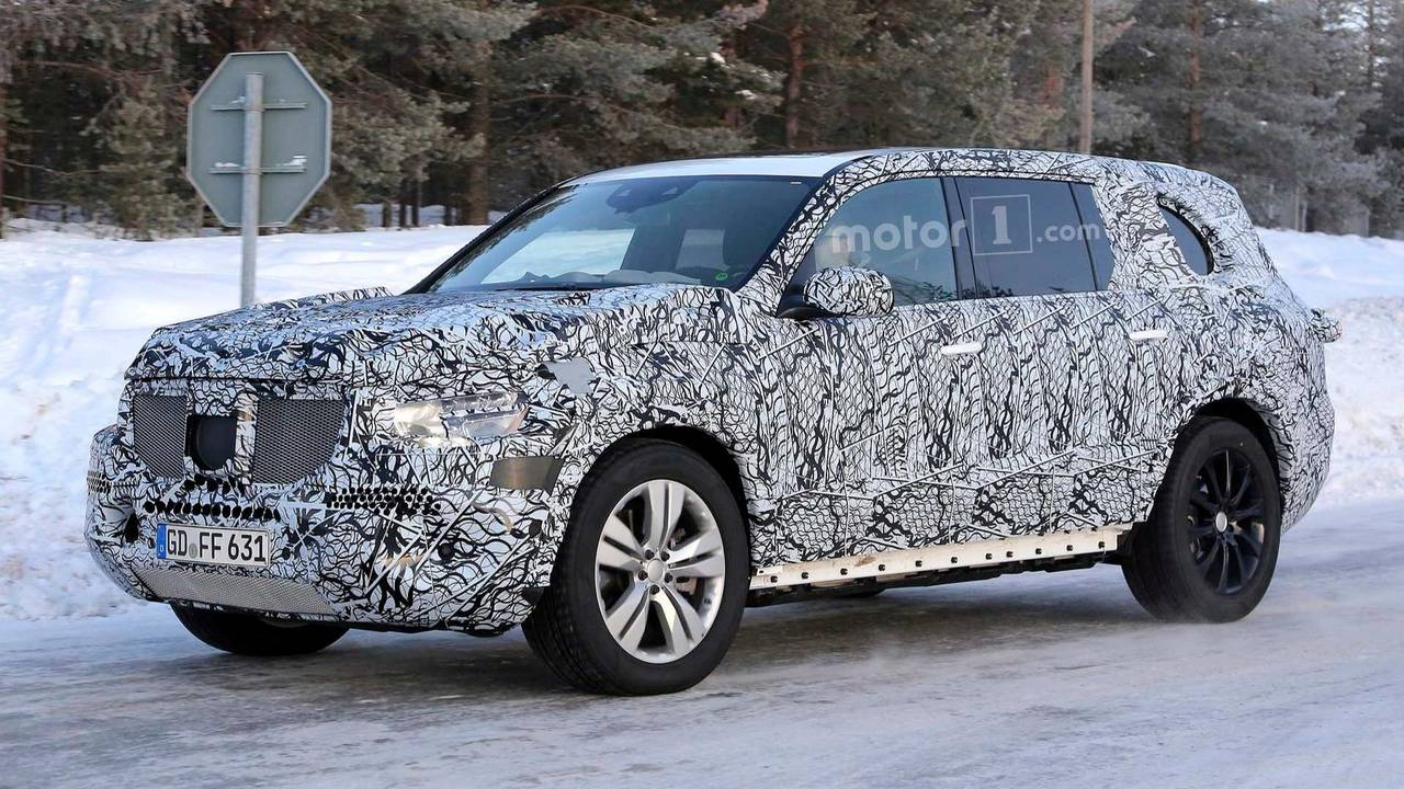 2019 Mercedes Benz Gls Class Spied Photo