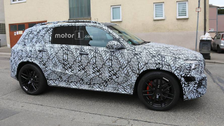 2020 Mercedes-AMG GLE63 new spy photos