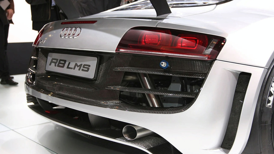Video: Audi R8 LMS Hits the Racetrack