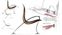 Mercedes-Benz Style furniture design sketch 05.05.2010