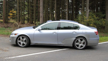 2012 next-gen Lexus GS spy pics