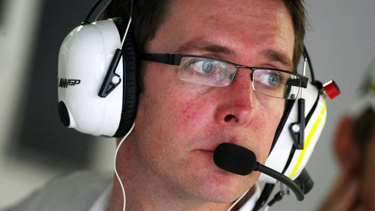 Andrew Shovlin, Jenson Button's race engineer, Japanese Grand Prix, Friday Practice, 02.10.2009 Suzuka, Japan