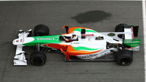 Adrian Sutil (GER), Force India F1 Team, VJM-03 - Formula 1 Testing, Jerez