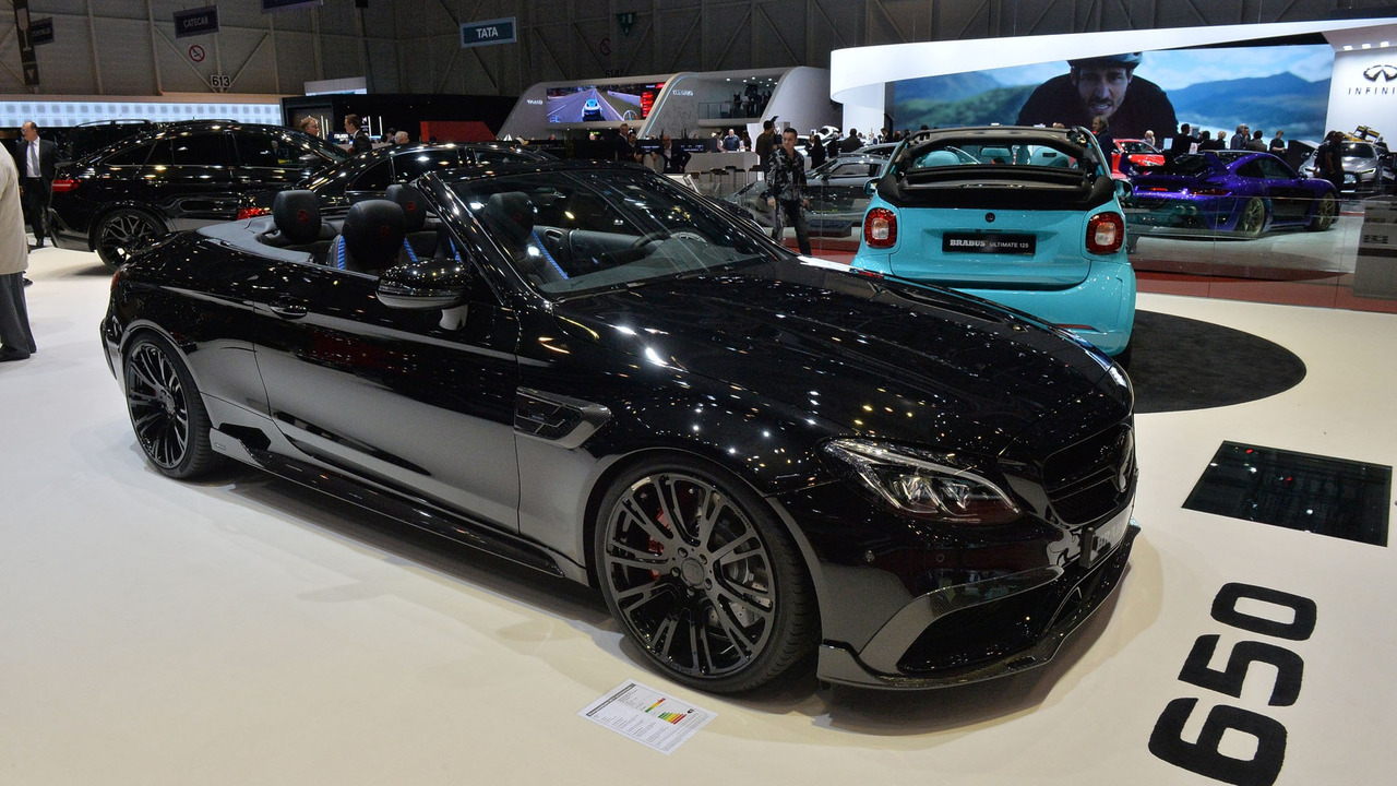 mercedes amg c63 s cabriolet by brabus heading to geneva. Black Bedroom Furniture Sets. Home Design Ideas
