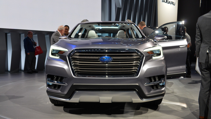 Original Subaru Ascent Concept  New York 2017 Photo