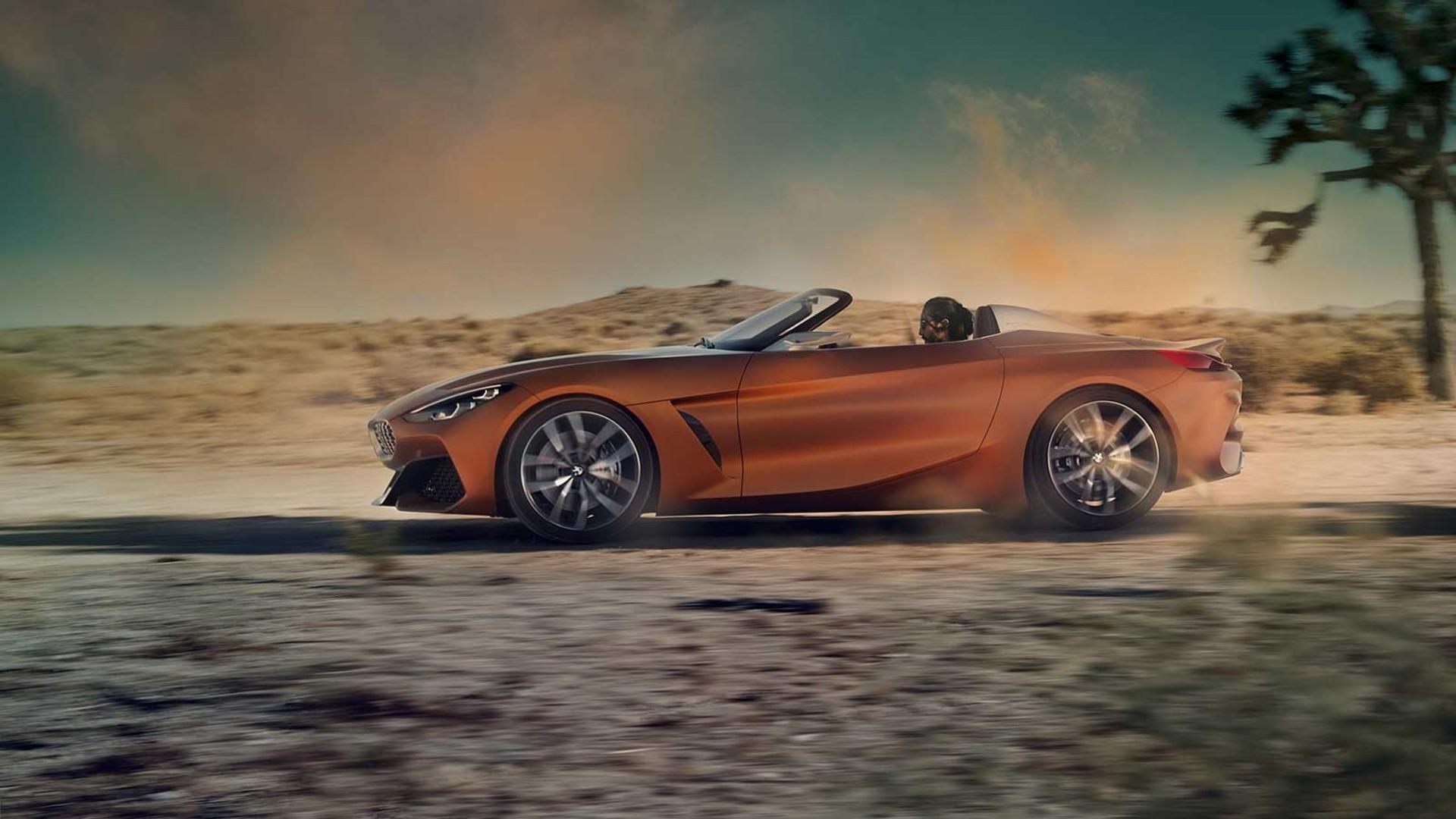 Bmw Z4 Concept Fully Leaked And It S Gorgeous