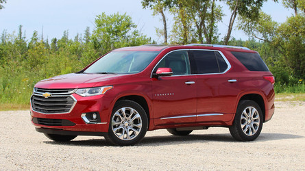 2018 Chevy Traverse First Drive