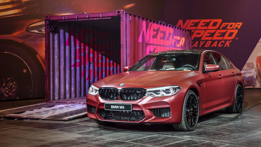 BMW M5 Stars In Need For Speed Payback And Official Videos