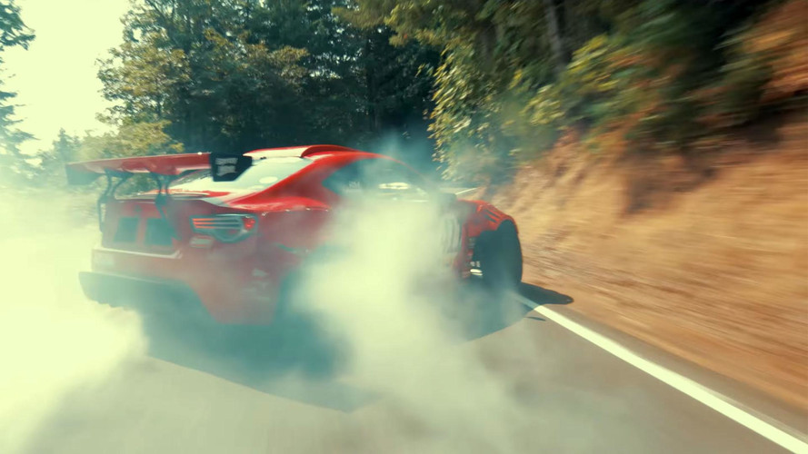 Ferrari-Powered GT4586 Crashes On First Shot Of Film Shoot
