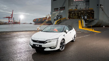 Honda Clarity Arrives in Europe