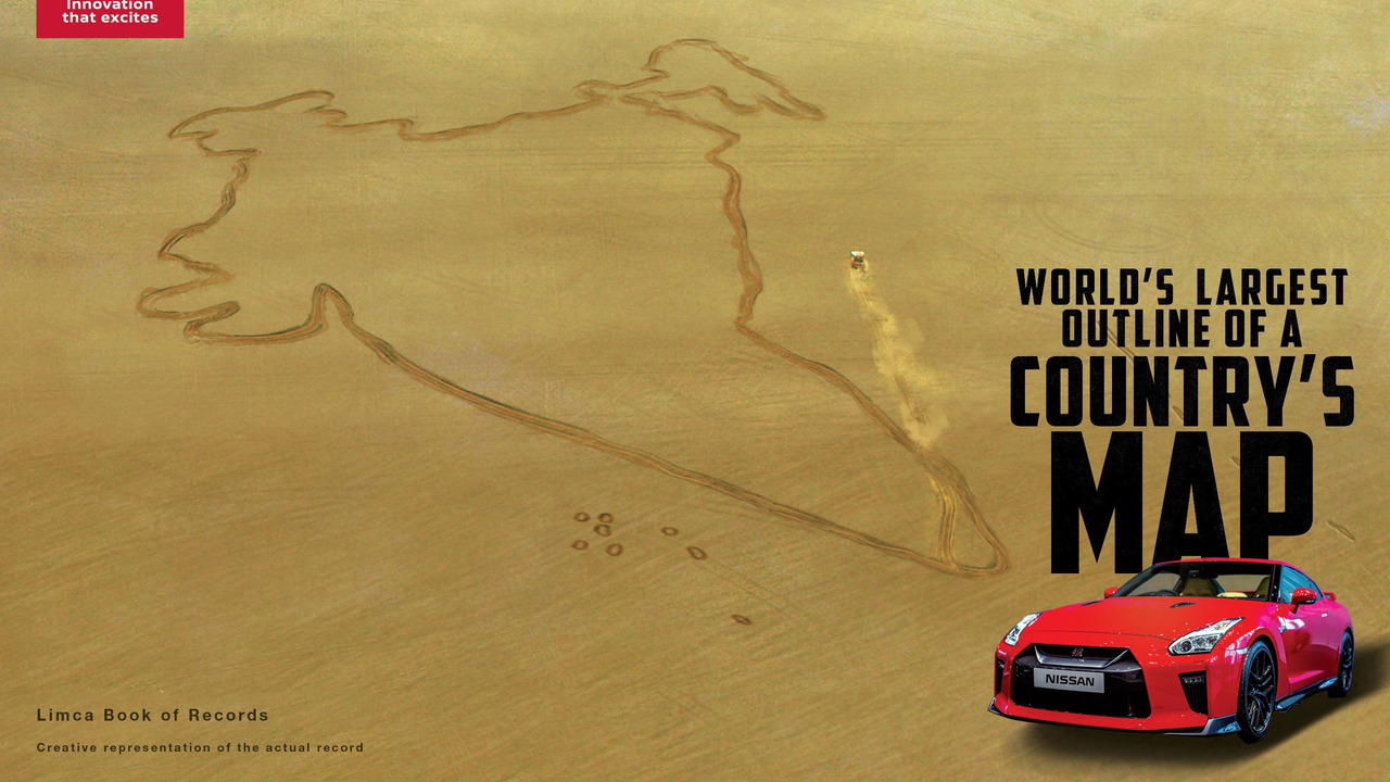 Nissan GT-R India World Record
