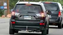 Mitsubishi Outlander Facelift Spy Photos