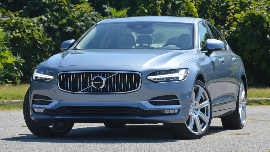 China-built Volvo S90L heading to Europe, U.S.