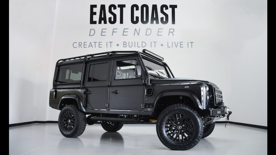 Five Lucky People Will Get to Own this Corvette-Powered Land Rover
