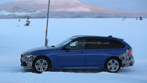 Facelifted BMW 3-Series spied testing in Touring guise