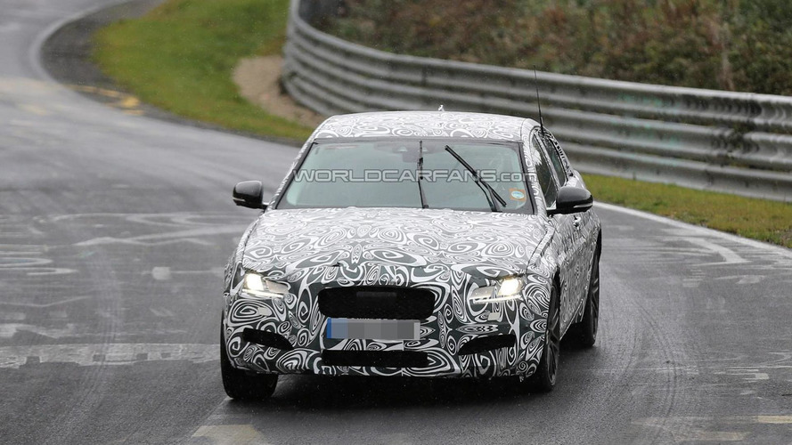 2016 Jaguar XF spied in action around the Nurburgring [video]