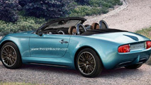 MINI Superleggera production version rendering / Theophilus Chin
