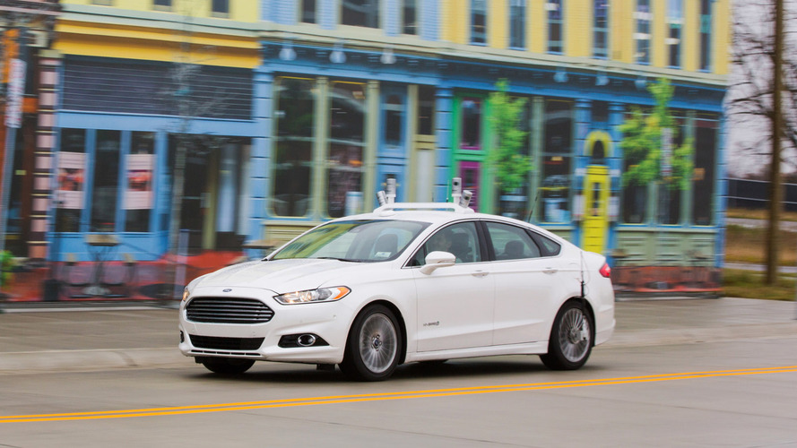 Ford Fusion Hybrid Autonomous Research Vehicle begins testing at Mcity