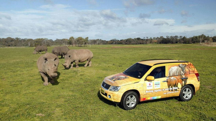 Buy a Suzuki Grand Vitara and Save The Black Rhino