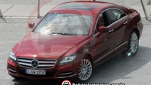 2011 Mercedes CLS caught completely uncovered