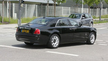 Rolls-Royce Ghost production version spy photo