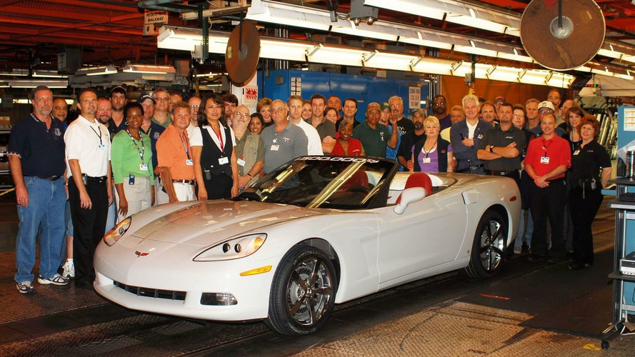 Chevrolet builds 1,500,000th Corvette