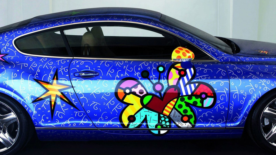 Bentley Continental GT meets Pop Art