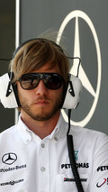 Nick Heidfeld (GER), Test Driver, Mercedes GP Petronas, Turkish Grand Prix, 28.05.2010 Istanbul, Turkey