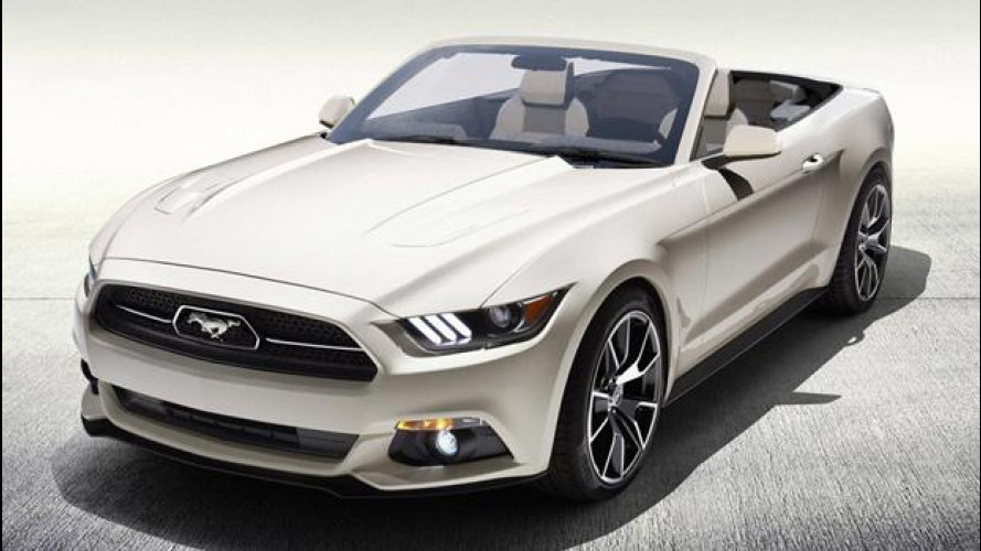 L'unica Ford Mustang 50 Years Convertible si vince alla lotteria