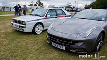 Ferrari FF and Lancia Delta at 2017 Goodwood Festival of Speed