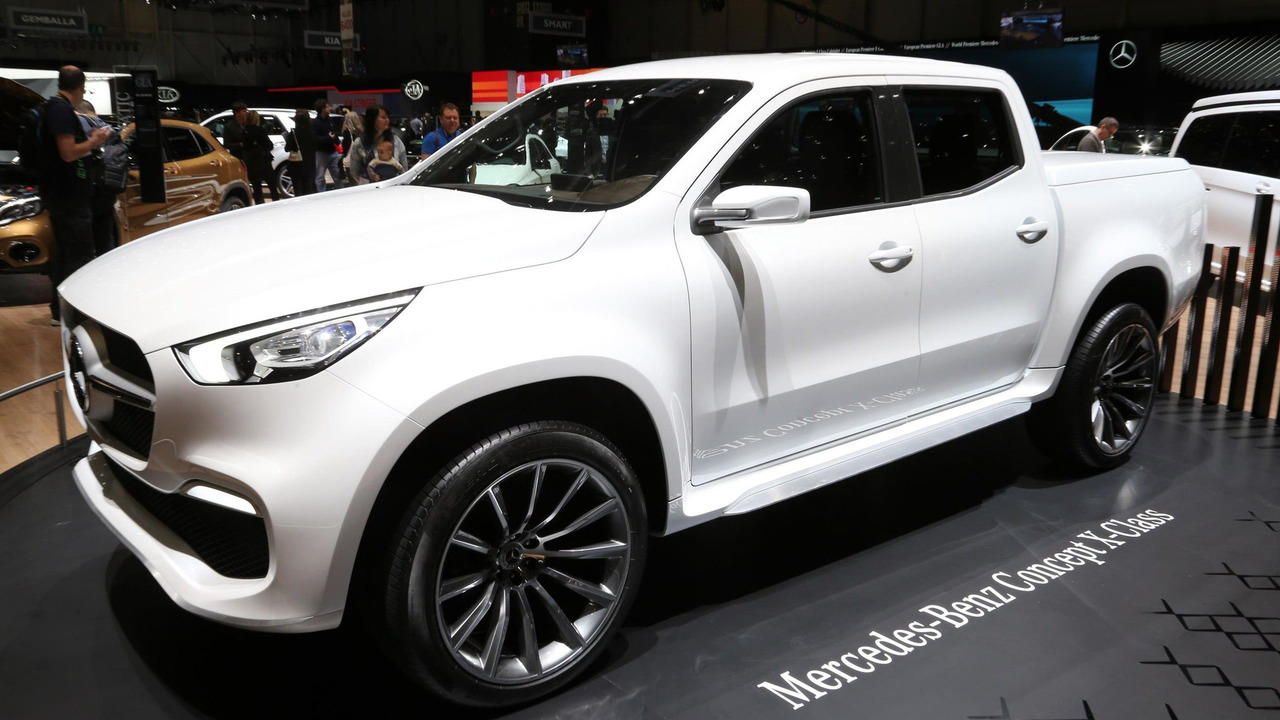 Mercedes X-Serisi pick-up konsepti