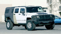 SPY PHOTOS: Hummer H3T