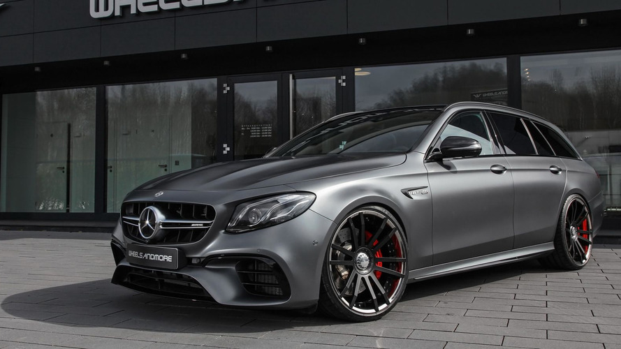 Une Mercedes-AMG E 63 S Estate  de 712 ch !