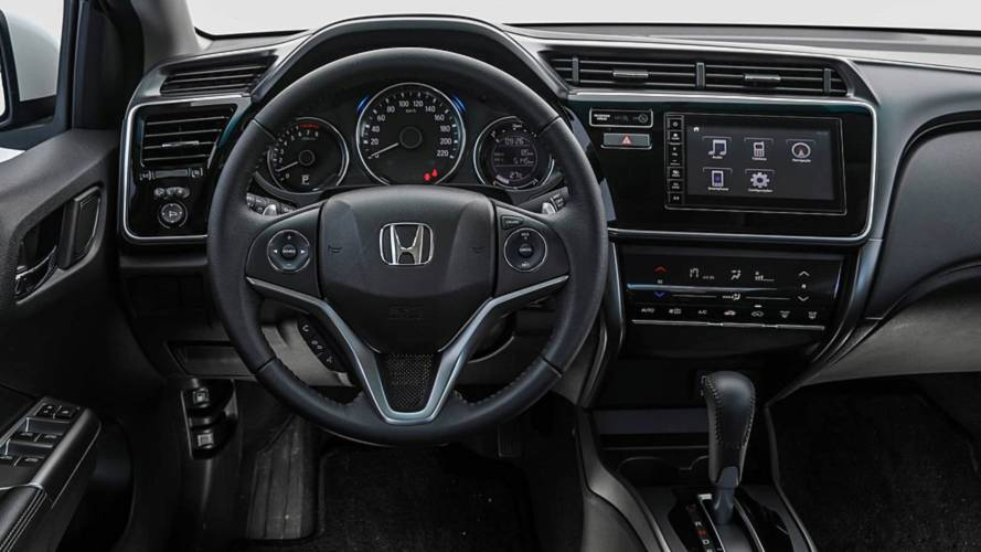 Honda City painel geral