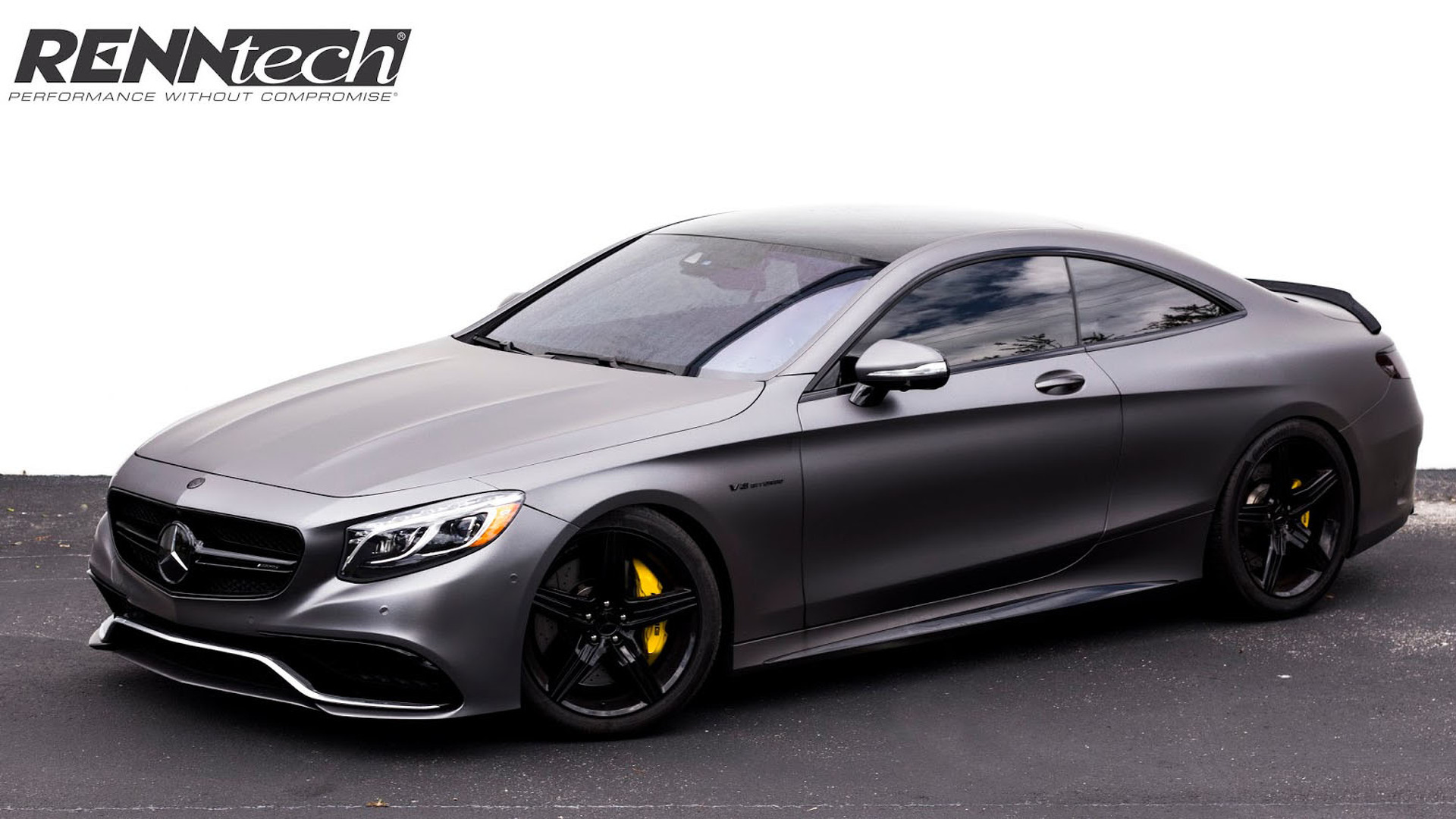 renntech bumps the mercedes s63 amg coupe to 708 hp. Black Bedroom Furniture Sets. Home Design Ideas