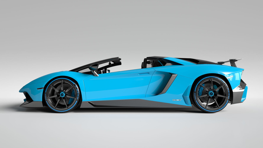 Vitesse AuDessus adds more carbon fiber to Aventador Superveloce