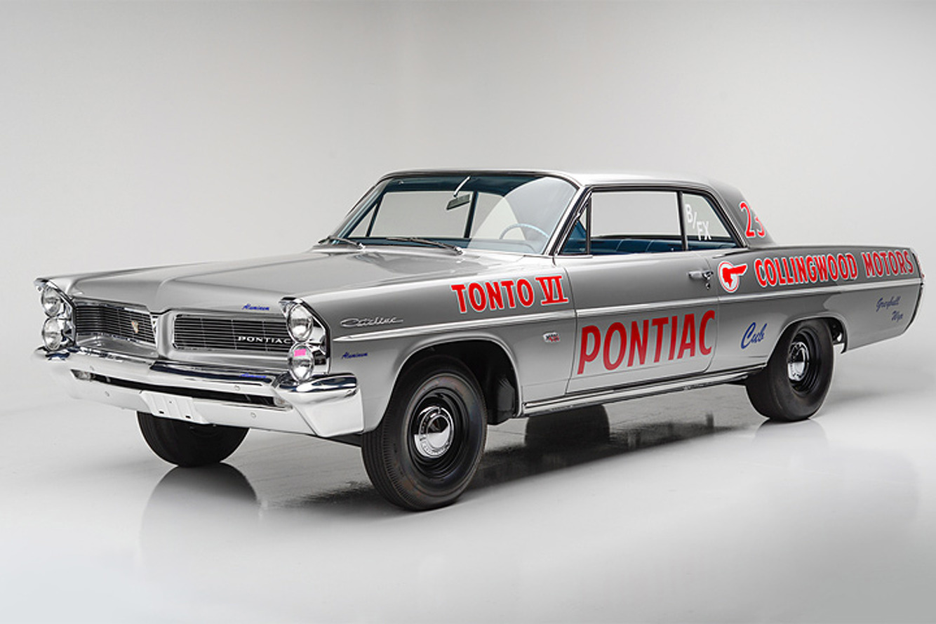 """This """"Swiss Cheese"""" Pontiac Shouldn't Exist, But it Does"""