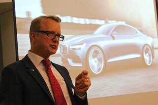 Volvo Talks Upcoming XC90, Twin-charging, and New Safety Innovations