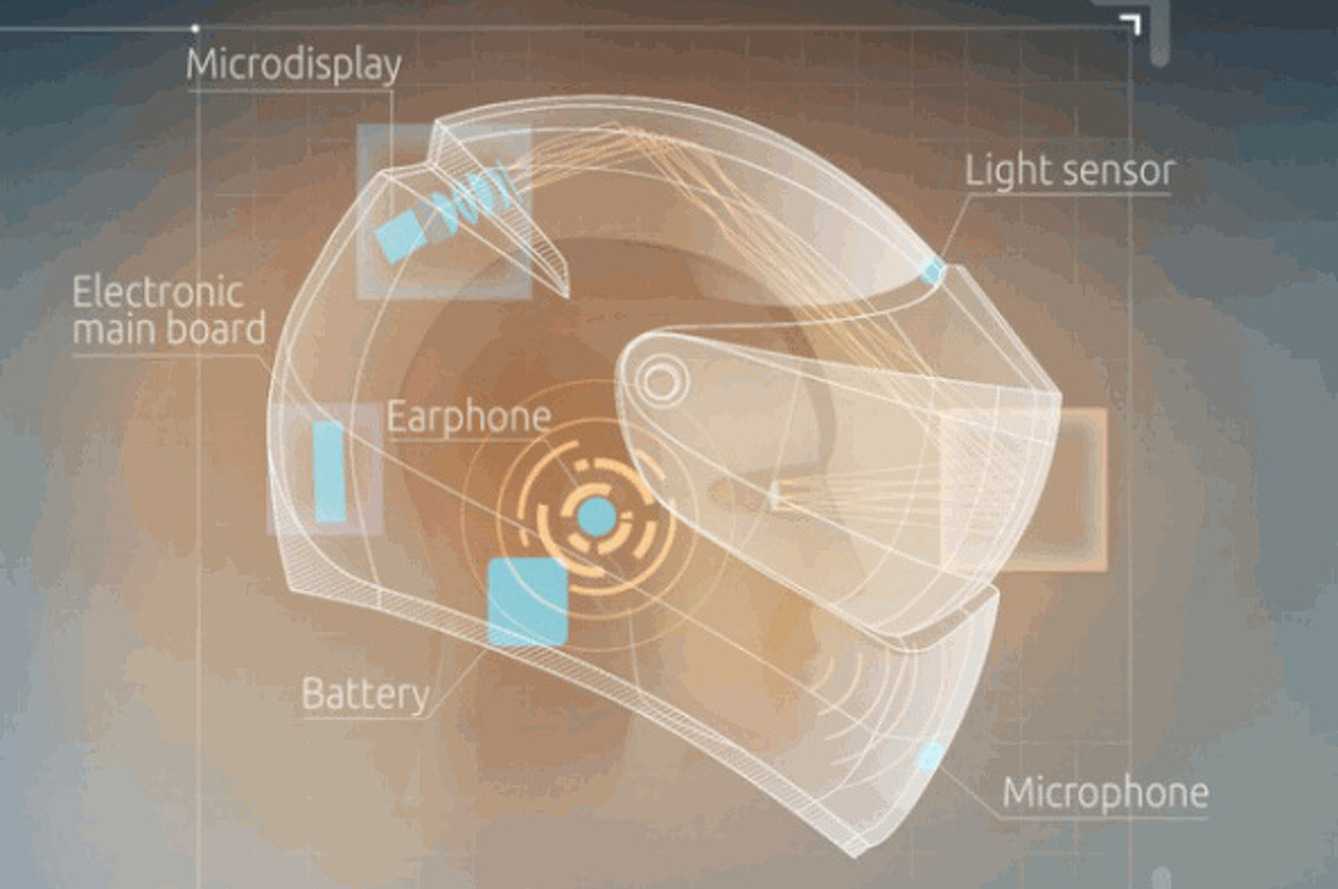 LiveMap Introduces Augmented Reality Motorcycle Helmet [w/video]